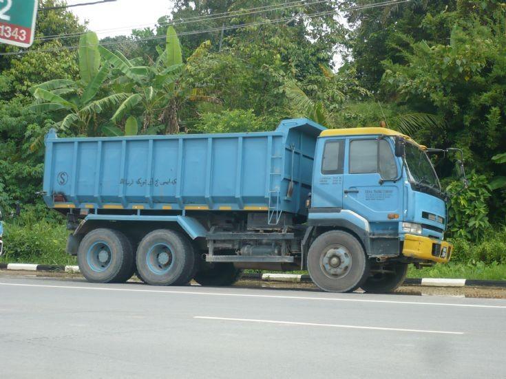 Nissan Diesel UD dump truck