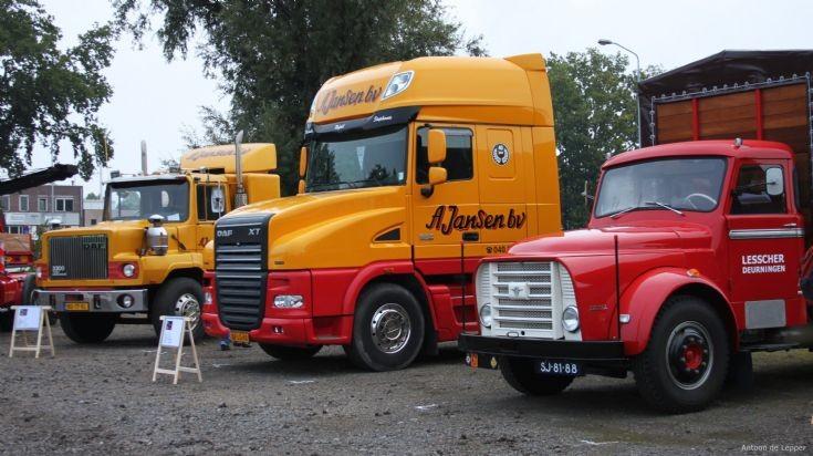 3 x Daf Torpedo Trucks.