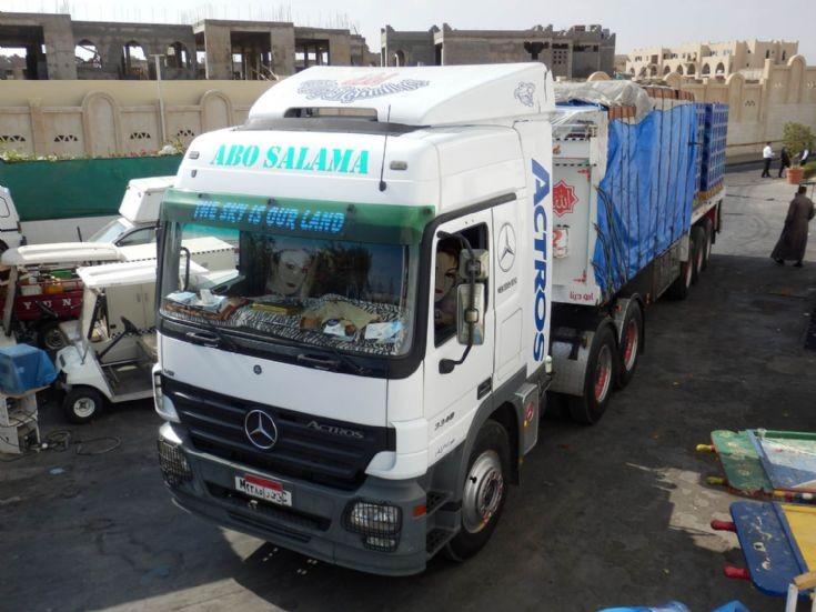 Mercedes Benz Actros 3348 - Egypt