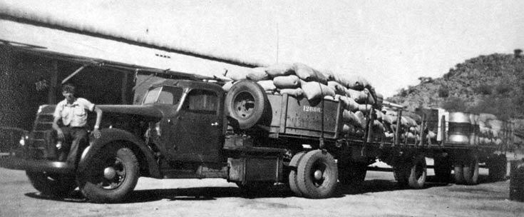 Bush Freight - International D50/6LW Gardner