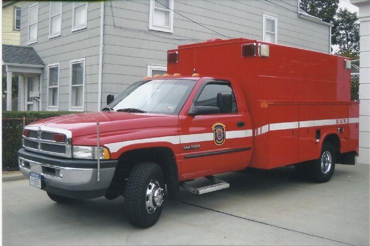 Dodge Ram Fire Truck