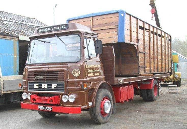 ERF A Flat Truck FMB208G
