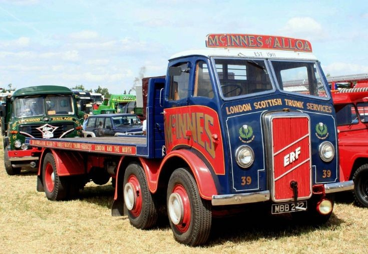 ERF Steer 1947 McINNES of ALLOA