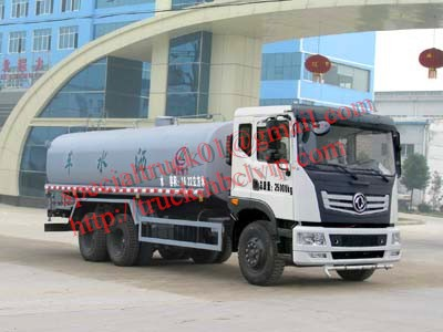 dongfeng 6*4 water truck