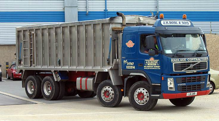 J H Rose & Sons Volvo FM12 380hp 8w