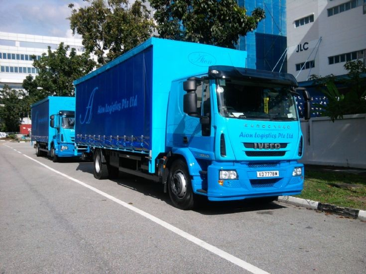 Iveco Euro 5 truck in Singapore