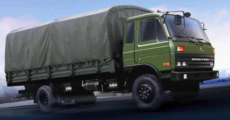 This is Dongfeng Army truck China Made