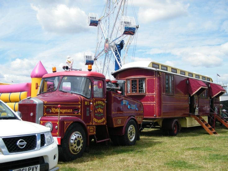 Scammell and Caravan