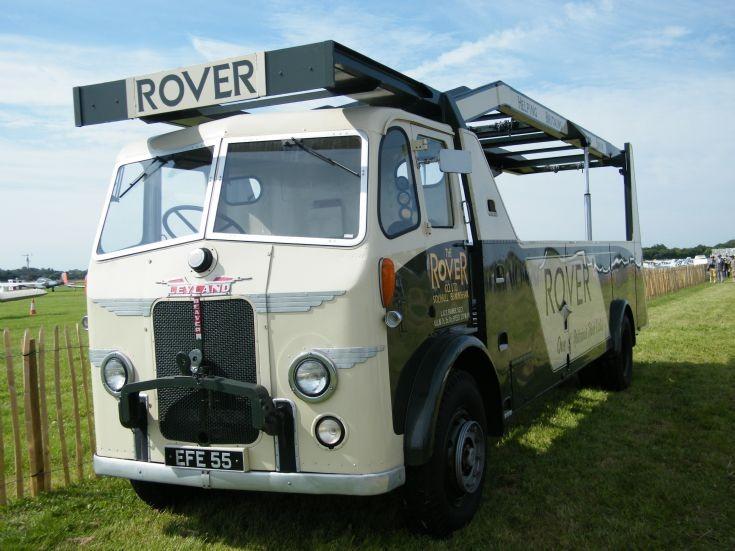 Leyland rover car tranporter
