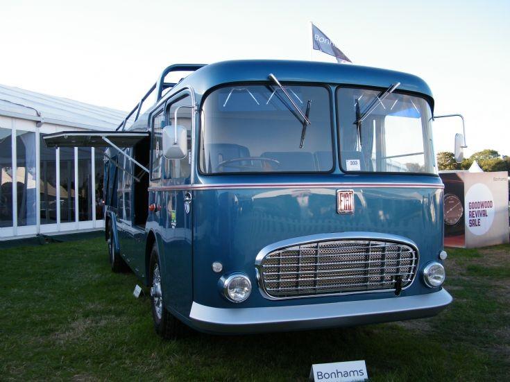 Fiat race transporter