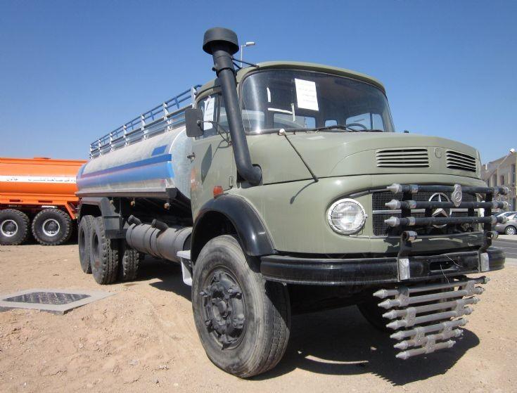 Merc water tanker