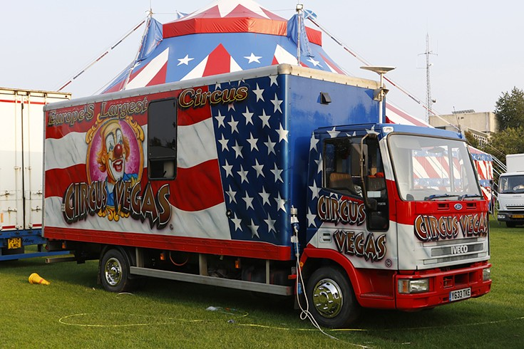 Iveco Box Truck of Circus Vegas