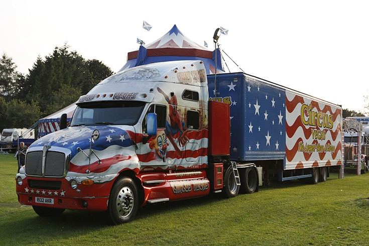 Kenworth Truck of Circus Vegas