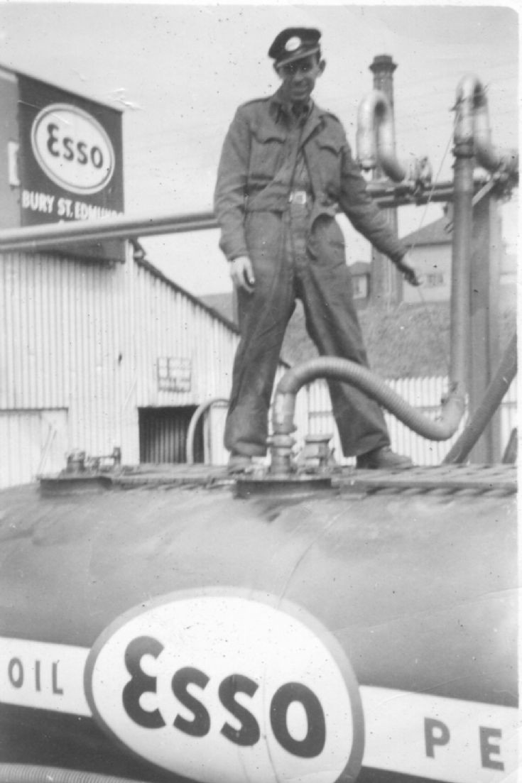 Bedford Esso Fuel Tanker