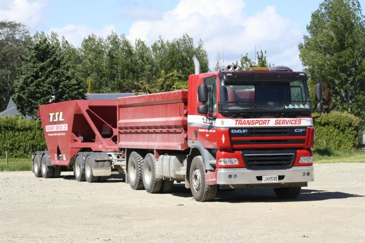 DAF CF in New-Zealand