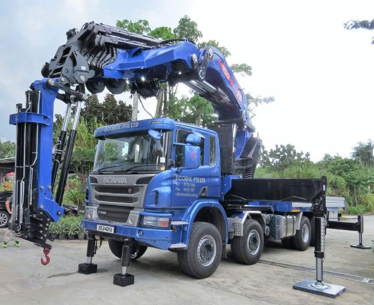 PM150 on Scania P440 in Singapore