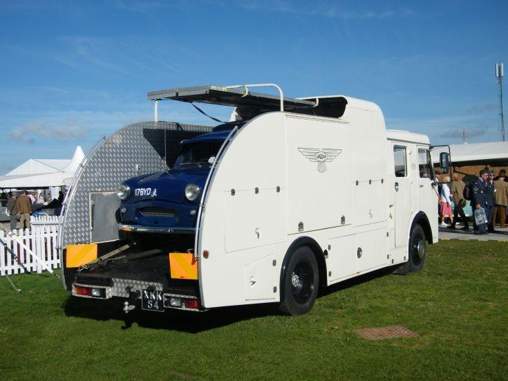 Dennis Race Car Transporter