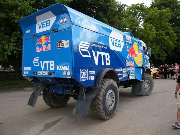 Kamaz racing truck