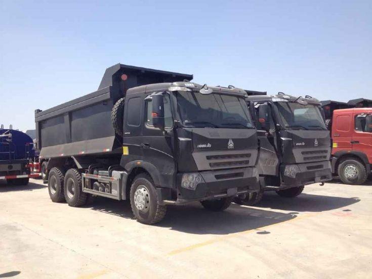 HOWO A7 tipper dump truck