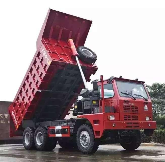 HOWO 70 ton mining truck