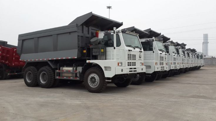 Quick sale Mining Tipper Truck