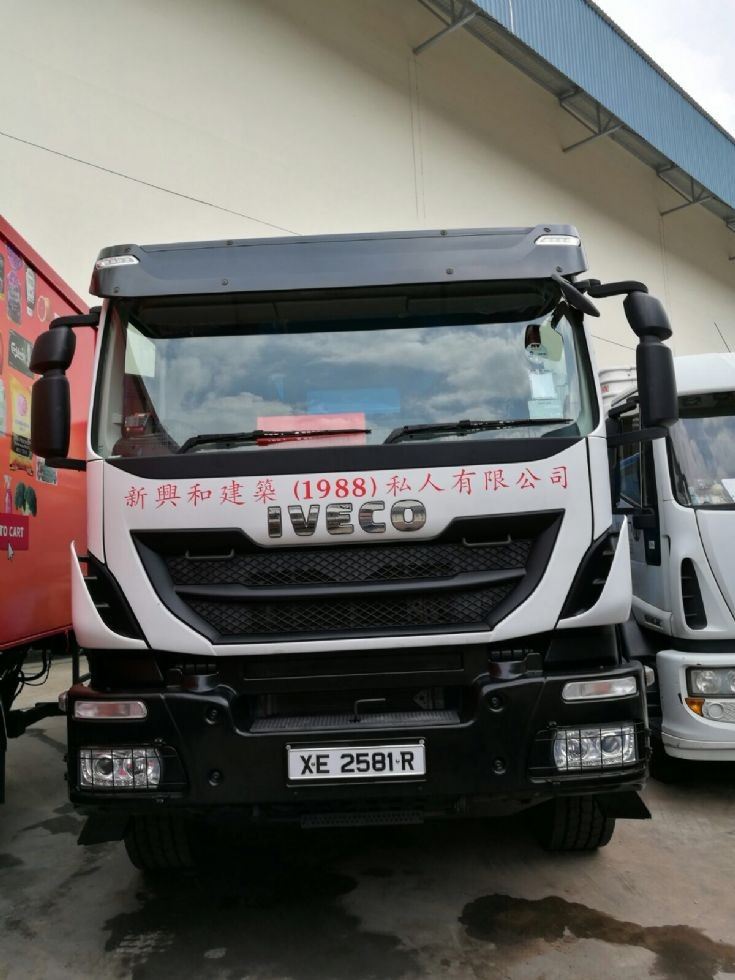 Iveco Tipper Truck-Sing Heng Hoe Construction (1988) Pte Ltd