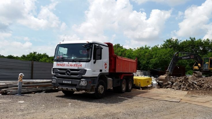 Mercedes Truck with TMA