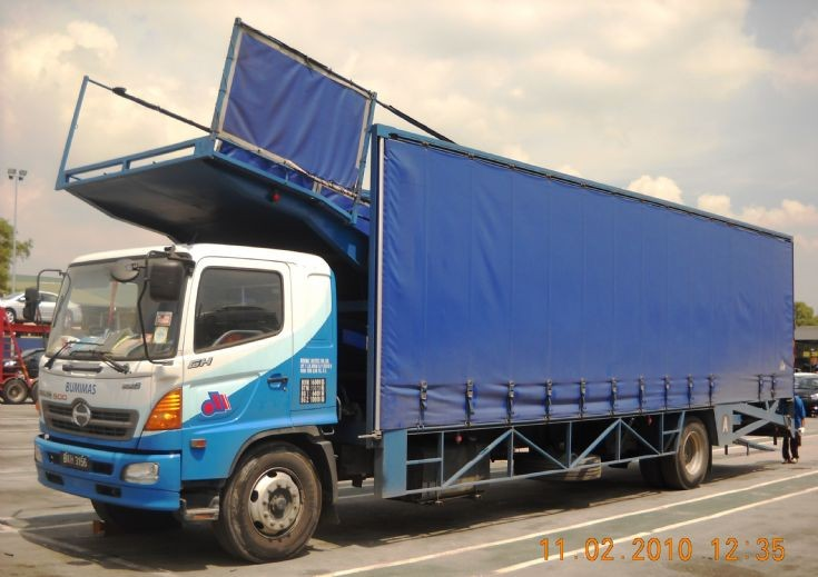 The 1st Full Cover Car Carrier in Malaysia