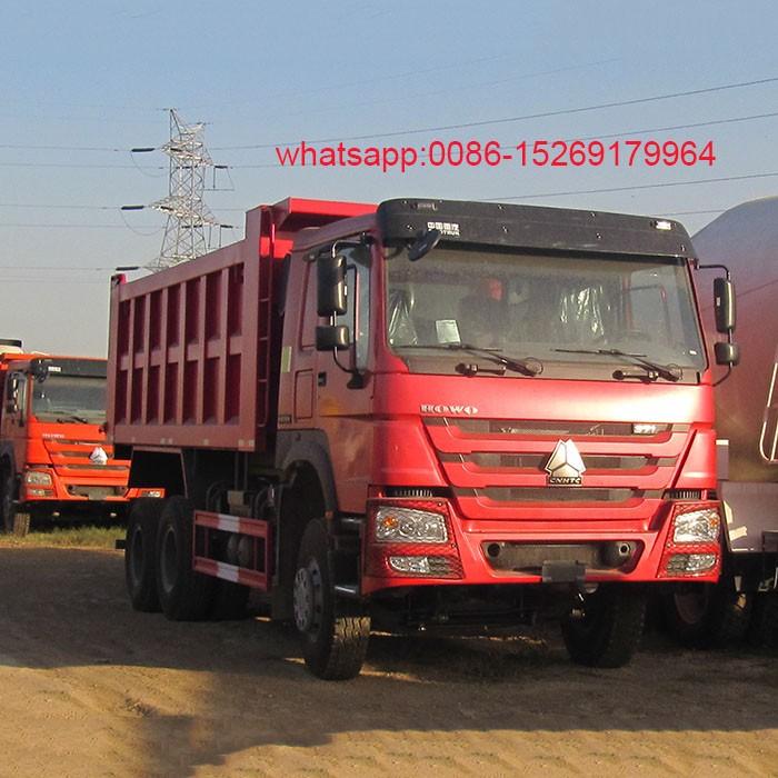 SINOTRUK 336HP HOWO dump truck
