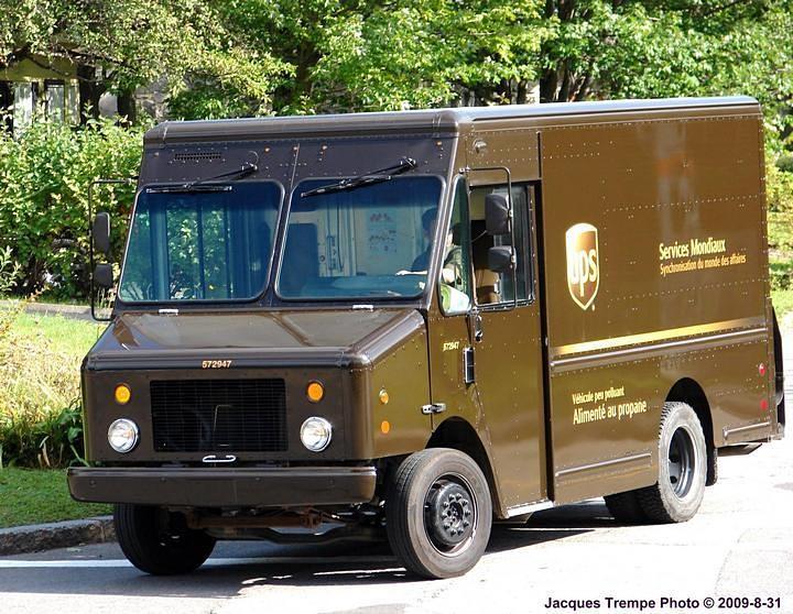 Ultimaster UPS propane truck