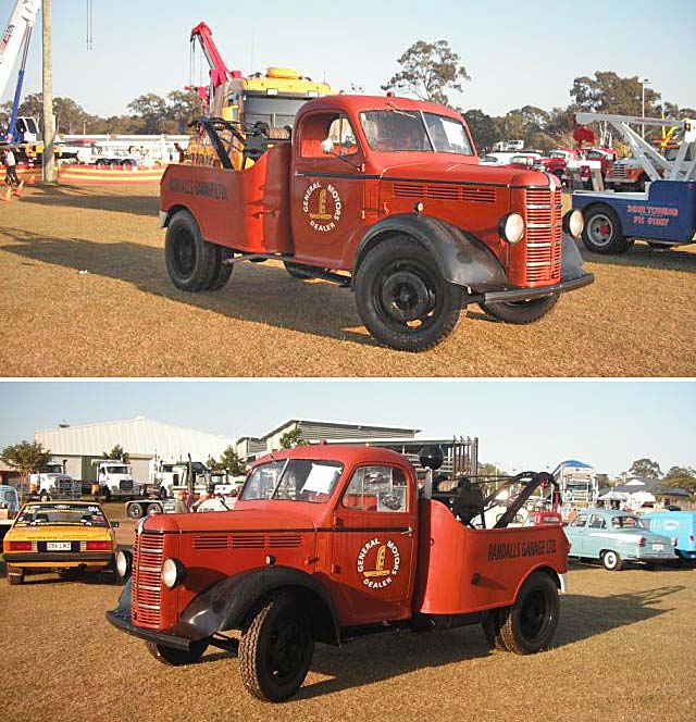 Restored 1949 Bedford Tow Truck