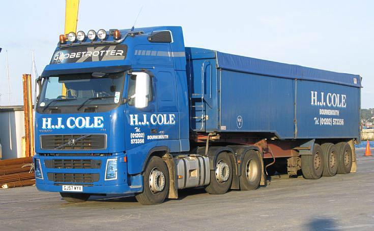 1965a65e1b88 Truck Photos - H J Cole 2007 Volvo FH 480hp Bulk Tipper