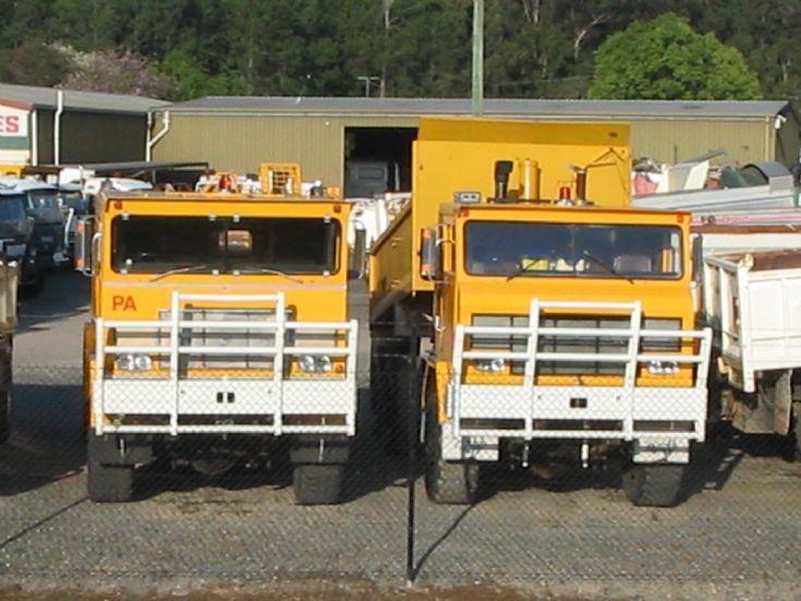 R.F.W. (Robert Fredric Whitehead) Australian Trucks