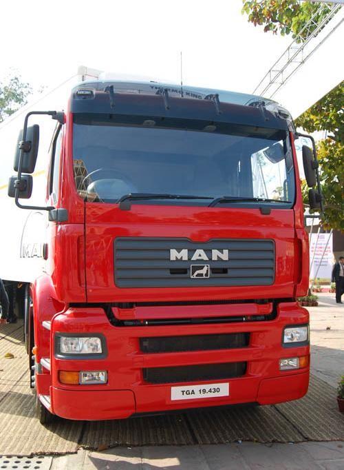 MAN TGA 19-430, New Delhi, India