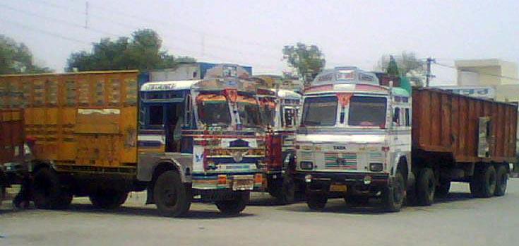 TATA 1613 and TATA 4018, Amritsar, Punjab, India