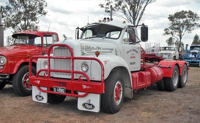 B61 Mack at Kingaroy Truck Show