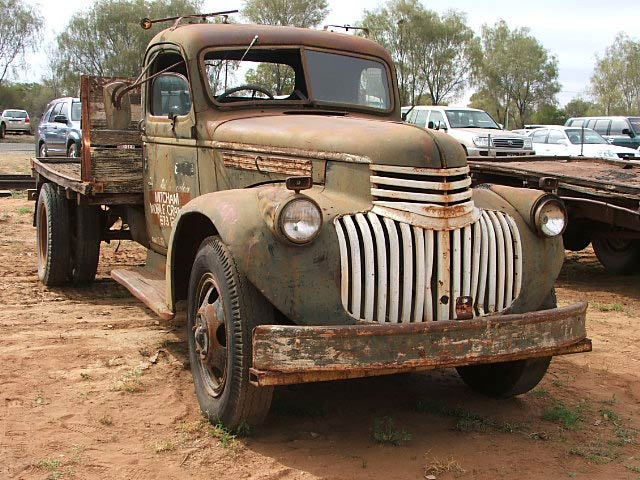 Lend Lease 1942 Chevrolet, Alice Springs, in 2005