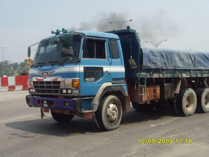 Hino Dump Truck in Malaysia