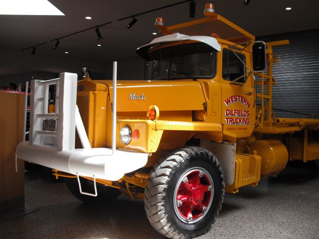 Mack DM 800 Oil Field truck used by Western Oilfields Trucking