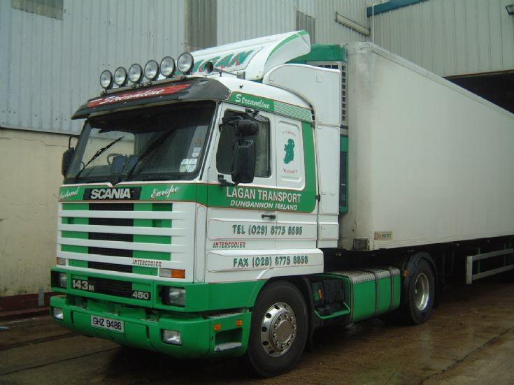 Scania R143 4x2 450 Topline Streamline, Lagan Transport