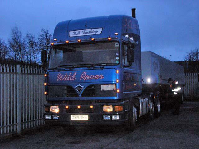 Foden 4000XL 'Wild Rover'