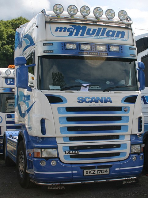 Scania R480 4x2 Topline, McMullan International