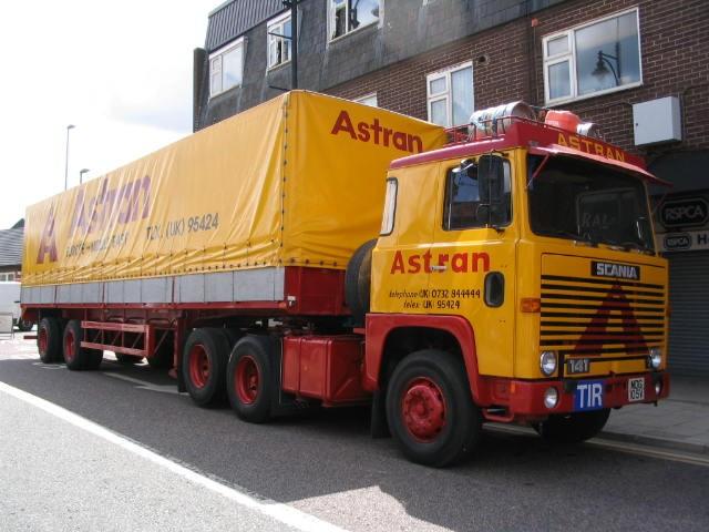 Scania LB141 6x2, Astran Cargo Services