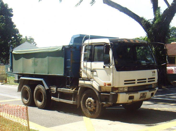 Nissan Diesel Dump Truck at Jalan Kayu
