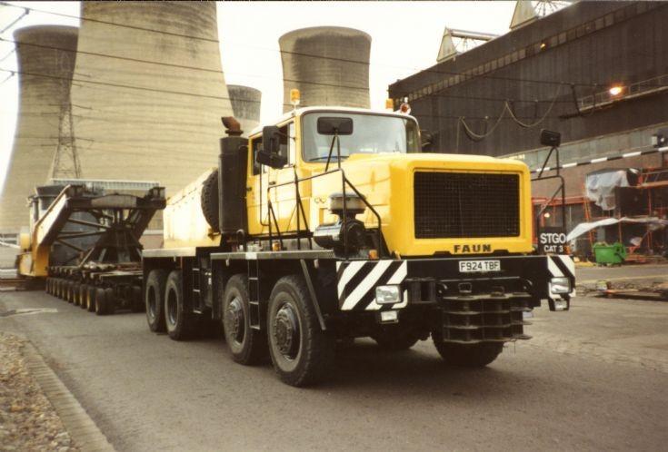 FAUN 8x4 Prime Mover GEC Services