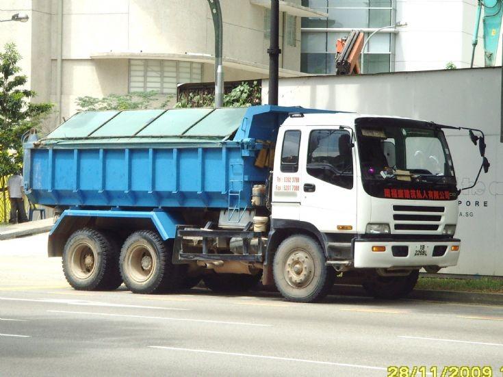 Zhou Fu Sheng Construction CXZ Isuzu Dump Truck