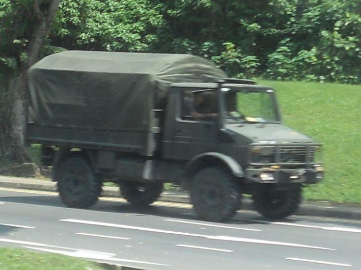 Mercedes Unimog Military Truck