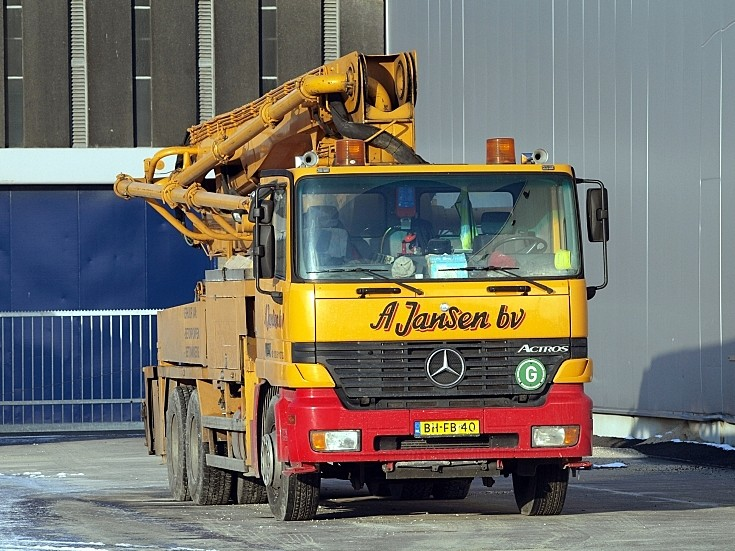 Mercedes Actros owned by A Jansen bv, Amsterdam
