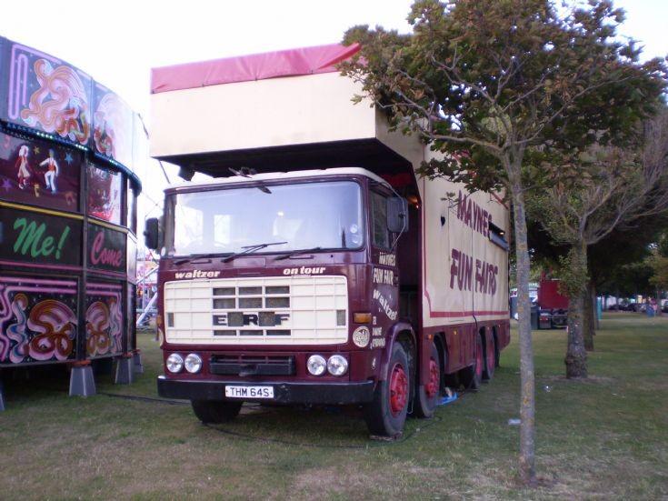 1978 ERF B series 8 wheeler - Maynes Funfair