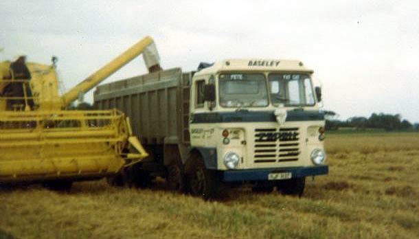 1978 Foden 8 wheel bulk tipper